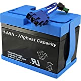 High Capacity 14AH 12V Battery Compatible with Peg Perego John Deere Ride-on Toy