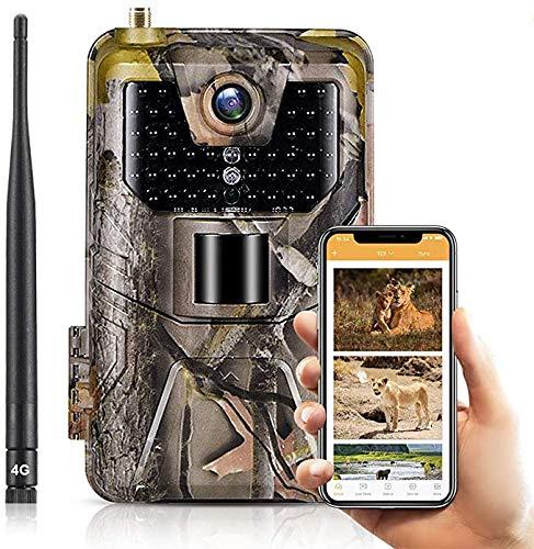 SuntekCam App LIVE Video 4G Wildkamera Jagd Foto Trap Trail Kamera 30mp 4K Jagdkameras für Nachtsicht Lesen Sie Videos und Live-Video auf Ihrem Handy App, Live Video Kamera Unterstützung Android iOS