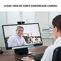広角ウェブカメラ,Funien ウェブカメラウェブカメラマイク付きUSBビデオ通話コンピュータ周辺カメラ