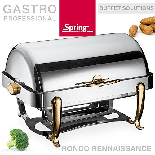 Chafing dish 4825559610RONDO - Borsone da gara 1/1 GN, 14 litri, colore: Marrone