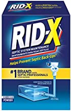 RID-X Septic Tank Treatment Enzymes, 2 Month Supply Powder, 29.4oz