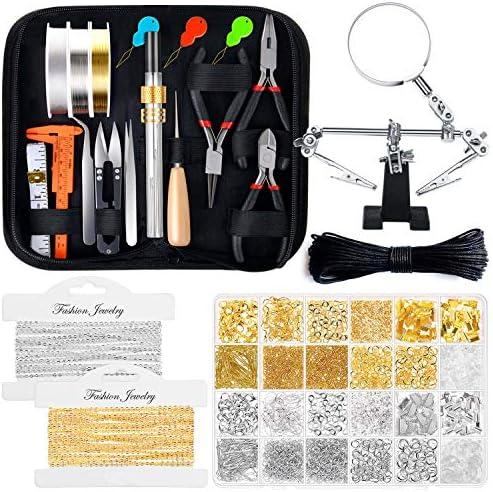 Jewelry Making Kits for Adults Shynek Jewelry Making Supplies Kit with Jewelry Making Tools product image