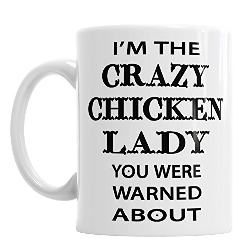I 'm The Crazy Chicken Lady koffie thee mok kantoor Bird Animal Pet Cup cadeau