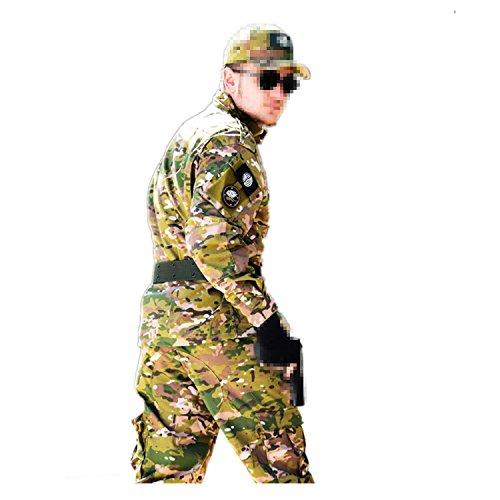 Hommes, Femmes, Couples Tactique Softshell Veste Camouflage Uniforme en Plein Air Randonnée Camping Doublure Chaud Coupe-Vent Imperméable Veste Ski Sport Costume