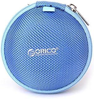 TT WARE Headphone Storage Bag Earphone Storage Case Digital Data Line Bag Mini Portable Earphone Box-Blue