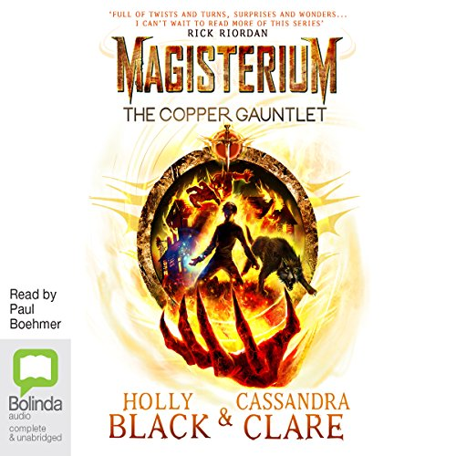The Copper Gauntlet: Magisterium, Book 2 audiobook cover art