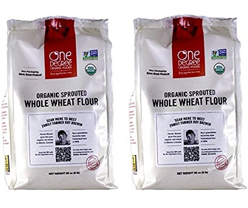 One Degree Organic Foods Organic Sprouted Whole Wheat Flour - 80 Ounce