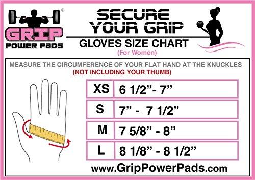 Grip Power Pads Women Gym Gloves