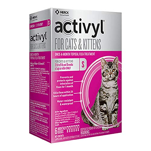 Activyl for Cats & Kittens 2-9 Lbs, 6-pack