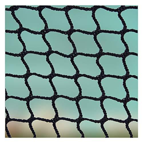 Schody strażnicze netto, zatrzymanie piłki netto, dziecko schodowe netto Balkon Bezpieczeństwo Kids Railing Ball Zatrzymywanie Siatki Nylon Backstop Bramki Nets Black Golf Course Barrier Wymiana Liny