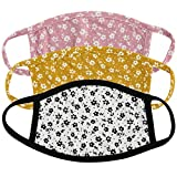 Miloo Children Reusable Washable Cloth Variety Face Mask for Kids - Pack of 3 -Made in USA