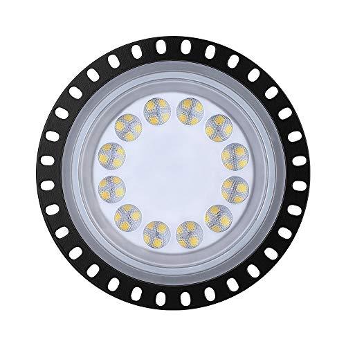 LED Industrielampe UFO, Garagenleuchten 50W 220V, IP65, UFO Mining Lampe der 3. Generation Abstrahlwinkel 120° LED Hallenleuchte für Industrial Hallenbeleuchtung Werkstattbeleuchtung