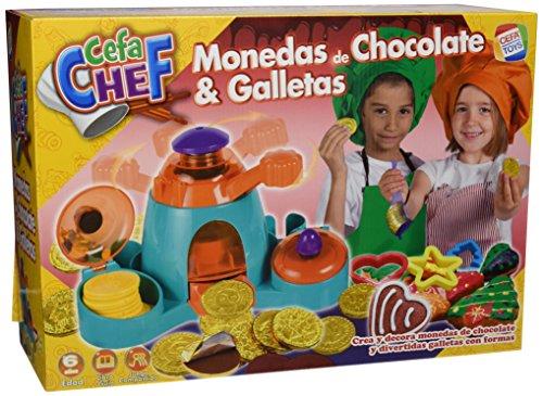 Cefa Chef–Gioco per Cucinare, per preparare Biscotti e cioccolatini Fabbrica di Cioccolato sin Talla Multicolore