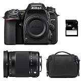 NIKON D7500 + SIGMA 18-300 Macro OS HSM Contemporary + Sac + Carte SD 4Go