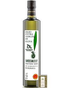 Academia Olearia, Organic Sardinian Extra Virgin Olive Oil from Italy, D.O.P., Italian Bosana Varietal