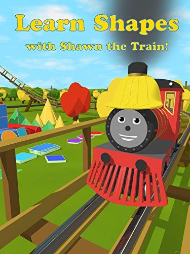 Learn Shapes with Shawn the Train! (Roller Coaster Adventure) [OV]