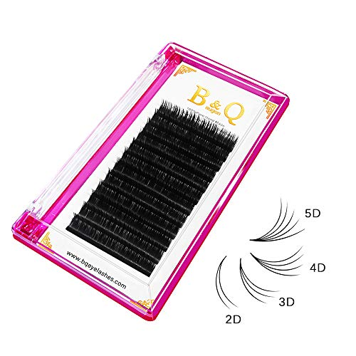 Russian Volume Lashes 0.10 C curl 8-15mm Mixed tray Automatic blooming Volume Eyelash Extensions 3D 4D 5D 6D 7D 8D 0.03 0.05 0.07mm C/D curl 9-18mm Length