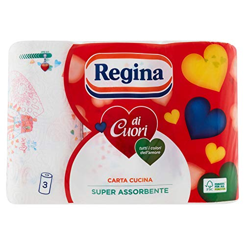 Carta Regina, 2 Veli, Super Assorbenza - 3 Rotoli