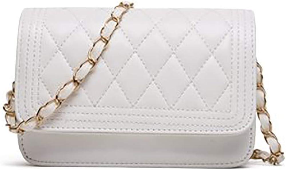 small crossbody bags for women quilting shoulder bag leather handbag purses Fashion Evening Bag
