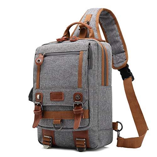 G4Free Sling Borse Uomo Spalla Zaino Mini Torace Day Bag Kids Small Cross Body