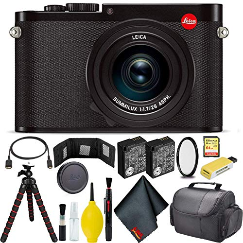 Discover Bargain Leica Q (Typ 116) Digital Camera (Black) Master Bundle