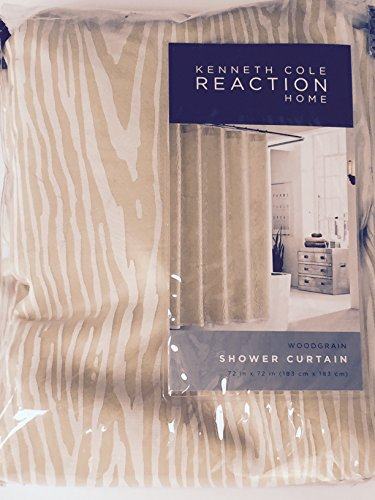 Kenneth Cole Reaction Home Shower Curtain- Woodgrain