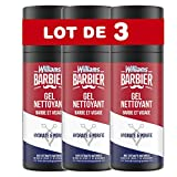 Williams Barbier Gel limpiador hidratante y purificante 150 ml – Lote de 3