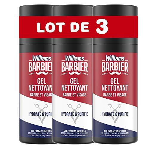 Williams Barbier Gel limpiador hidratante y purificante 150 ml – Lote de...