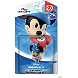 High Quality: Disney Originals (2.0 Edition) Crystal Sorcerer's Apprentice Mickey Figure - Not Machine Specific
