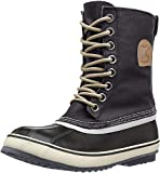 Sorel Women's 1964 Premium CVS WMNS-W Snow Boot, Black/Fossil, 10 M US