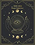 2022-2026 Moon Calendar: 5 Year 60 Lunar Phases Monthly Planner US/Canada Based | Witchy Wicca Pagan Gothic Witch Lunar Gift