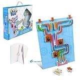 Juegos Educativos Puzzle para Niños 6+ Años Juguetes de Canicas Imanes Pizarra Magnetica Marble Run Regalos para Niños Niñas 6 7 8 9 Años