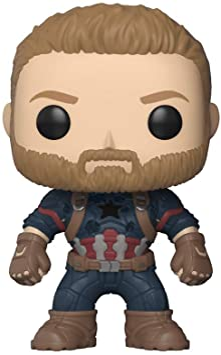 Funko Pop Marvel Avengers Infinity War Captain America Collectible Figur Amazon De Spielzeug