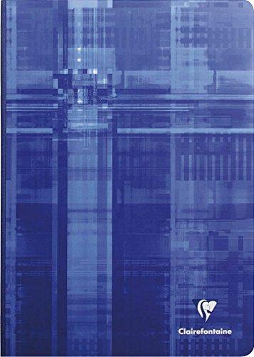 Clairefontaine 69142C Kladde (DIN A4, 21 x 29,7 cm, gebunden, kariert, 96 Blatt) 1 Stück farbig sortiert