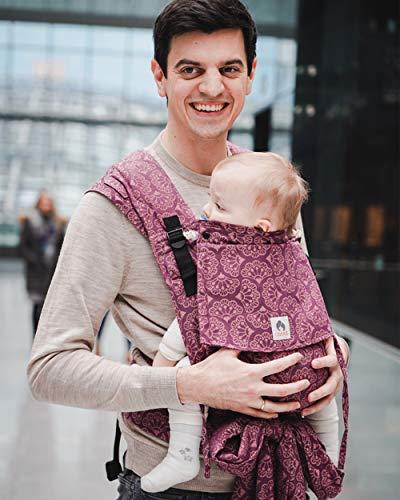 LIMAS Babytrage Plus Ginko Blackberry