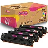 Excellent Print 205A CF530A CF531A CF532A CF533A Compatibili Cartuccia Del Toner per HP Color LaserJet Pro MFP M180n M180nw M181fw M154a