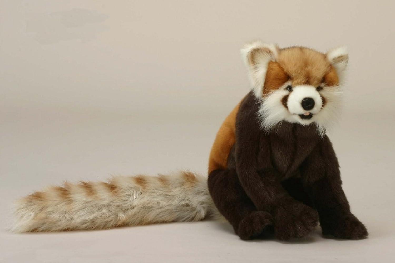 Hansa - 4905, Roter Panda, sitzend, Plüsch, 30cm