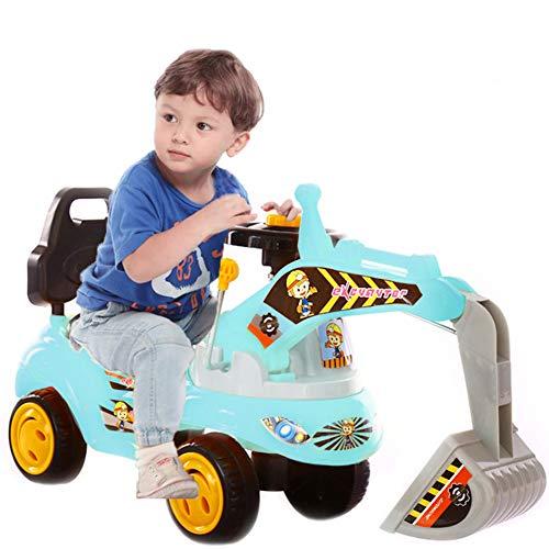 FXQIN Spielzeug-Bagger Bagger, Sitzbagger Kinderfahrzeug zum Draufsitzen für Kinder ab 3 Jahre für Kinder in...