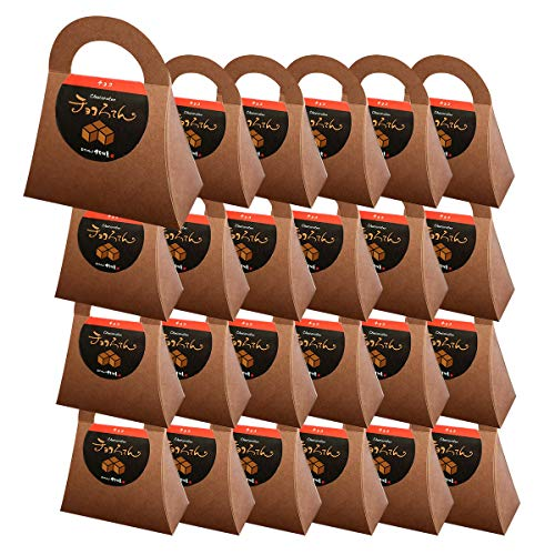伊豆河童 チョコろてん 24個セット ダブルチョコ味 (カカオ入り角心太95g チョコソース12.5g×2 珈琲フレッシュ5g)×24 ホワイトデー 向け
