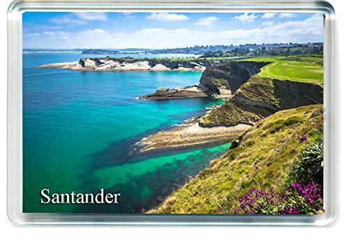 H336 Santander Imán para Nevera Spain Travel Fridge Magnet