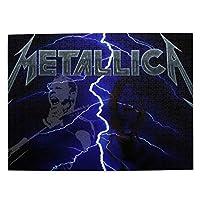 Metallica 大人と子供のための木製ジグソーパズル500ピース、クリエイティブギフトの家の装飾のためのアートワークジグソーパズルおもちゃ