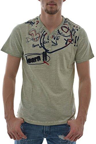 Desigual LETTERING - Camiseta Hombre
