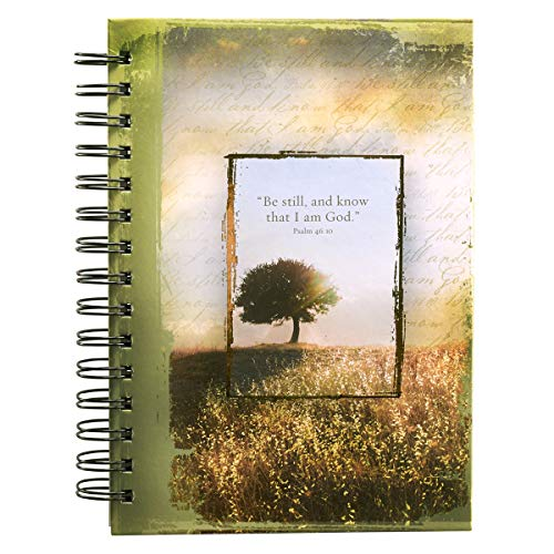 Psalm 46:10 Hardcover Wirebound Journal