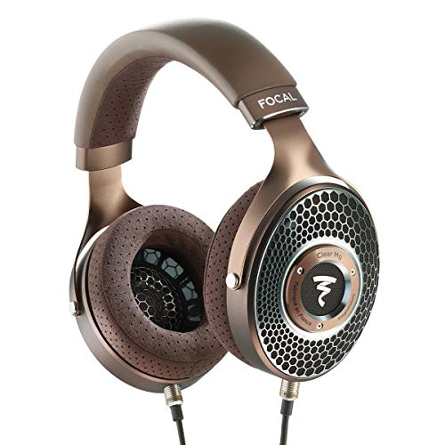 Focal Clear MG Open-Back High-Fidelity Over-Ear Headphones