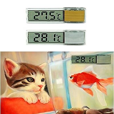 hrph LCD 3D Thermometer Aquarium Elektronische Digitale multifunctionnel der Lage Temperatur Fish Tank Temp Zähler