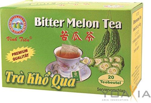 [ 40g (20x2g) ] VINH TIEN Bittermelonen Tee / Bitter Melon Tea / Gohyah Tea