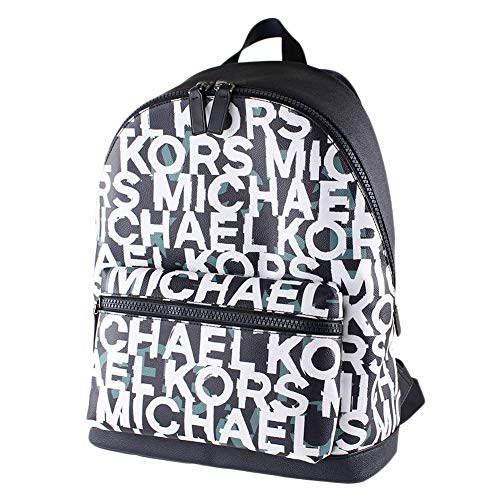 Michael Kors Men's Cooper Monogram Backpack in Fade Mint, Style 37S0LCOB2B.