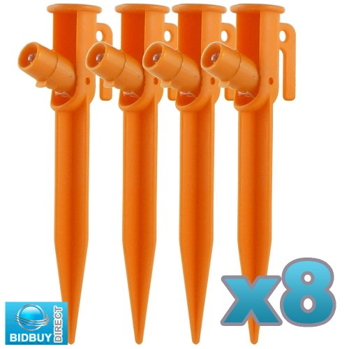 LED TENT PEGS - PACK OF 8 - TENT PEGS
