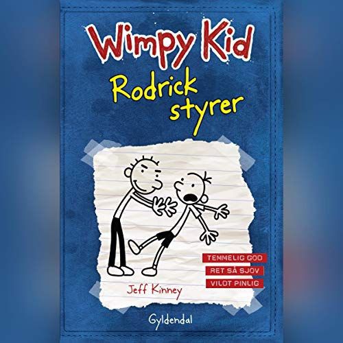 Rodrick styrer cover art