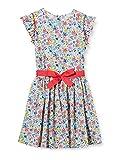 Petit Bateau 5924401 Dress, Marshmallow/Multico, 6 Ans Girls